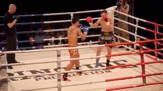 """HEROES FIGHTNIGHT 3"" Michal Krcmar Czech a Lampard Sor Kamsing Thailand"