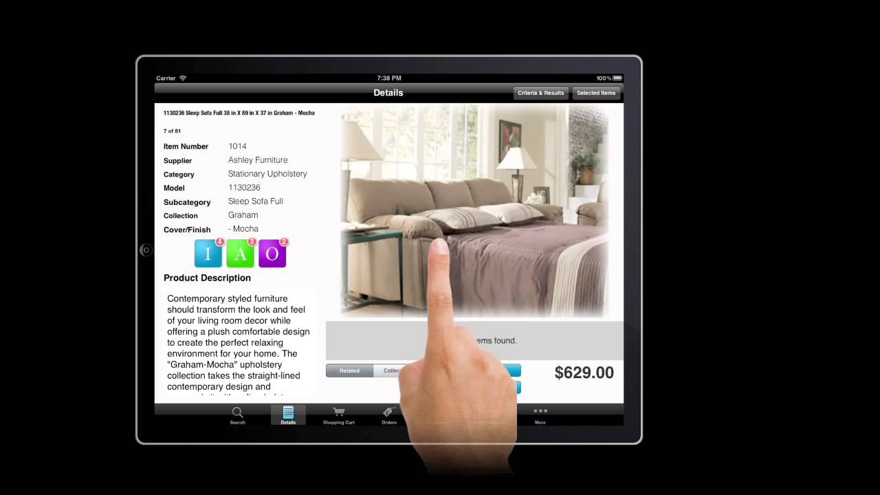 retail furniture store ipad app ifurniture is power in your retail furniture store ipad app ifurniture is power in your sales teams hands