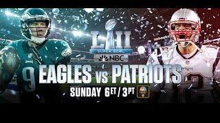 Eagles vs Patriots: Super Bowl 52 Hype Video