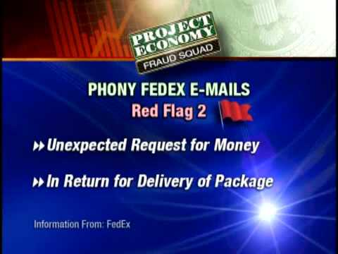 Fraud Squad:  E-mail Scam Targets FedEx Customers