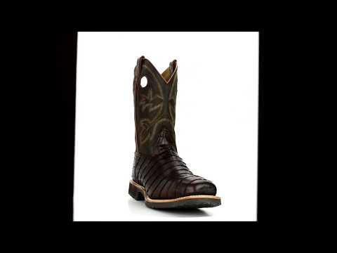 "Men's Double H 12"" Steel Toe Western Boot DH5225 @ Steel-Toe-Shoes.com"
