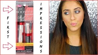 First Impressions: Physicians Formula Eye Boost Instant Lash Extensions Kit