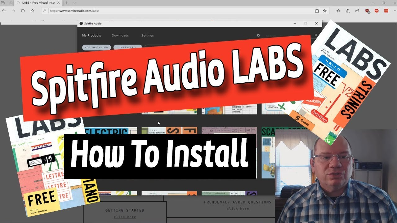Spitfire Audio LABS - How To Install