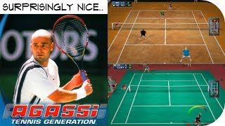 Agassi Tennis Generation - PlayStation 2 - 5 Matches Gameplay HD