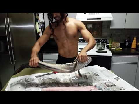 Salt Bae Filleting Snakehead Fish : how to fillet a snakehead
