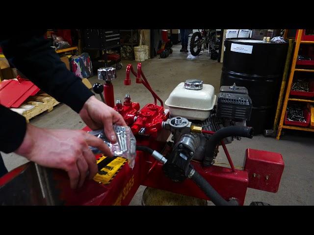 How to Install a Split-fire Log Lifter