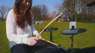 KLAUDIA DRUM COVER BY THEKAYS.