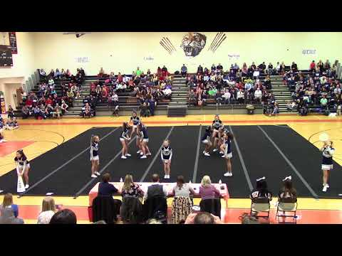 Culpeper Middle School Spirit Spectacular Cheer Competition 2018