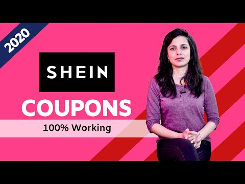 Shein Coupons 2020 | 100% Working & Verified Promo Codes