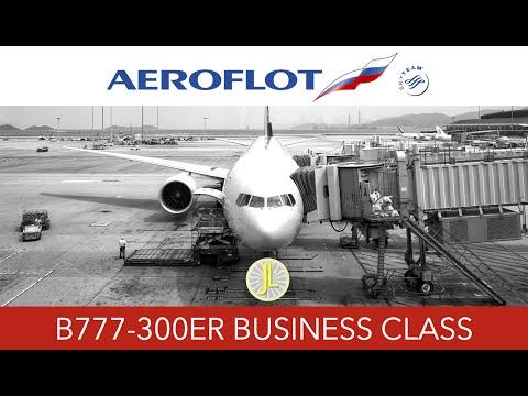 Aeroflot 777-300ER Business Class SU 213 Hong Kong to Moscow Flight Trip Report Review