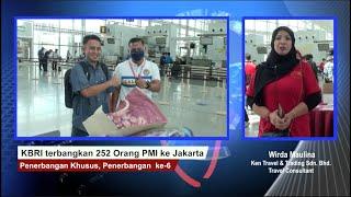 KBRI Terbangkan PMI dari Brunei ke Jakarta, Penerbangan Khusus ke-6, 19-7-2020