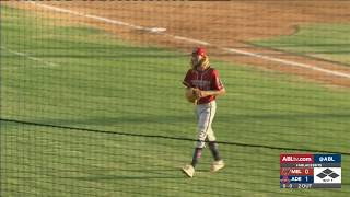 HIGHLIGHT: Hamburger pitches out of bases-loaded jam, R2/G1 thumbnail