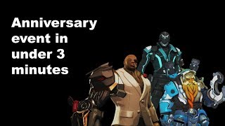 The 2018 Overwatch Anniversary event described in under 3 minutes