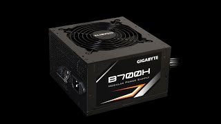 Gigabyte B700h Semi Modular Psu Unboxing And Overview
