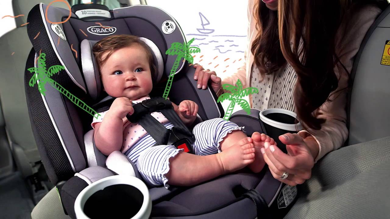 Newborn Car Seat Set Up Graco 4ever All In One Convertible Car Seat Review From Mom