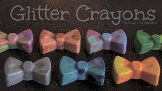 Glitter Crayons - How To - Microwave or Oven Thumbnail