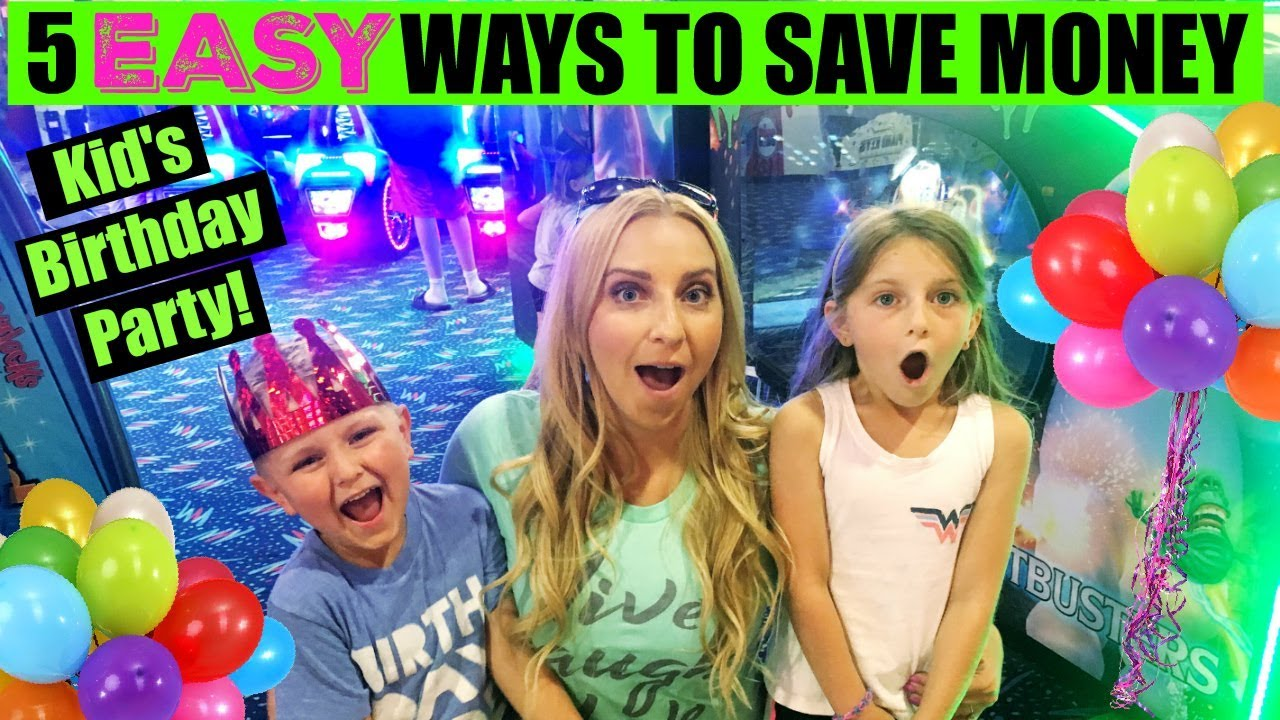 5 easy ways to save money on a kid 39 s birthday party for How to get money easily as a kid