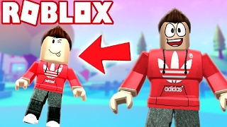 TURNING INTO A KID IN ROBLOX! (Roblox Adventures)