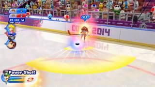 Mario & Sonic  Sochi 2014 Olympic Games   Ice Hockey
