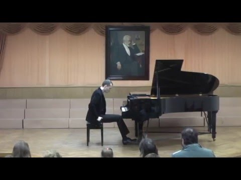 Andrei Kuznetsov, piano — concert at music school, Taganrog, 01.25.2016