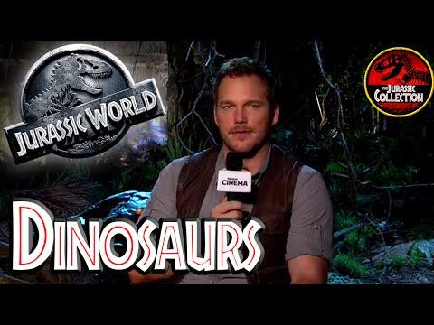 DINOSAURS | Jurassic World Special Behind the Scenes ITALIAN | 2015