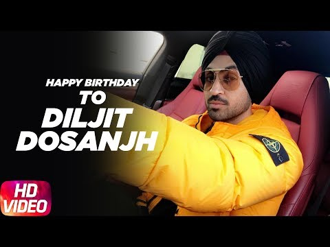 Speed Records Wishes Diljit Dosanjh a Very Happy Birthday | Legendary Punjabi Superstar