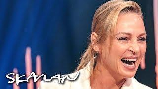 Uma Thurman talks about why she wants a Swedish citizenship | SVT/TV 2/Skavlan