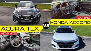 HONDA BATTLE! -- 2021 Acura TLX vs. 2021 Honda Accord: Comparison