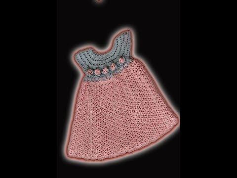 Crochet Patterns| for free |crochet baby dress| 2471