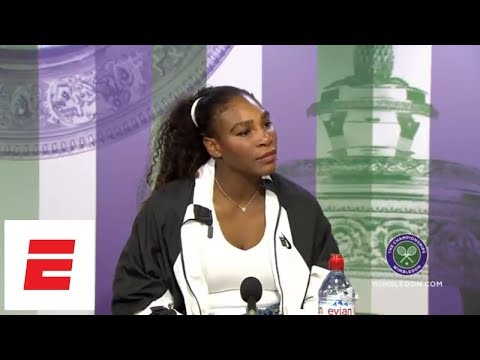 Serena Williams on daughter: I would hope Olympia doesn't play tennis   ESPN