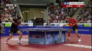 2014 Men's World Cup MS-F: MA Long - ZHA...