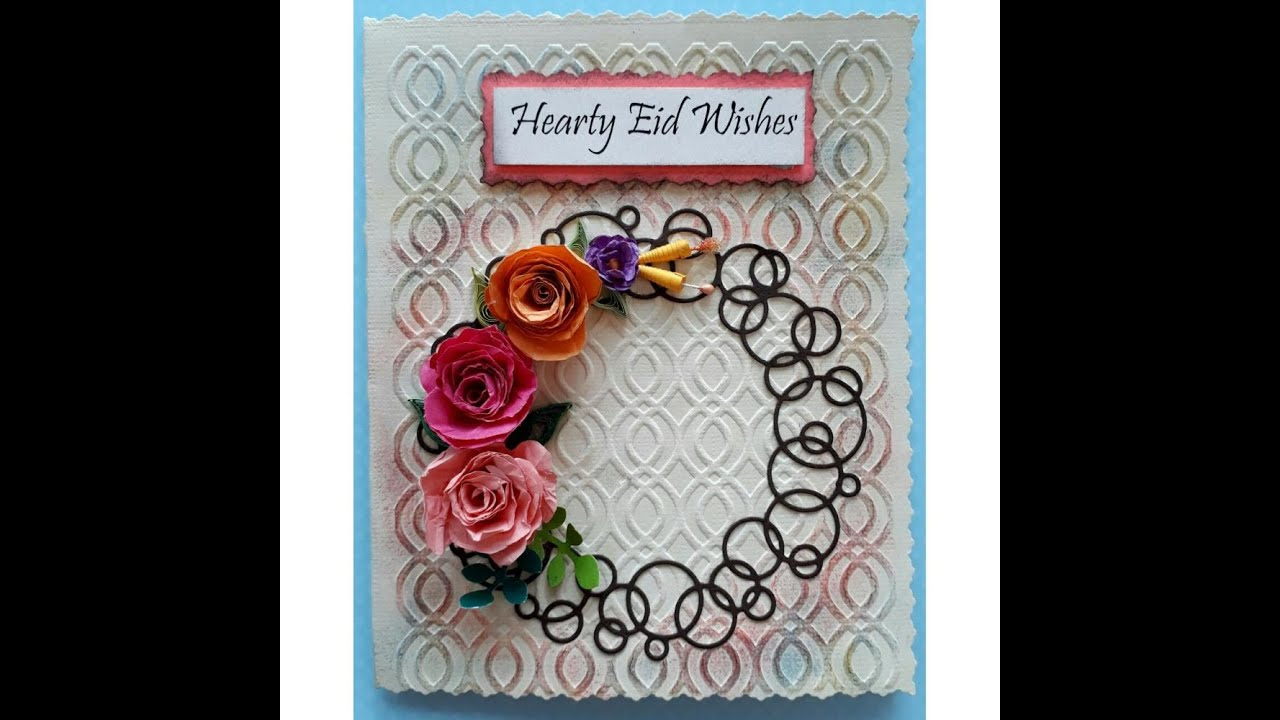 3 simple eid cards ideas  how to make simple eid cards