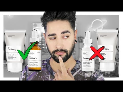 How I Actually Feel About The Ordinary - The Best Products From The Ordinary ✖  James Welsh