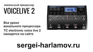 VoiceLive 2 - голосовой процессор - VoiceSupport