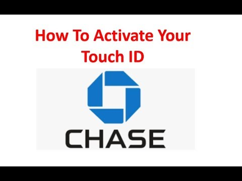 How To Use The Fingerprint Touch ID With Your Chase Bank App