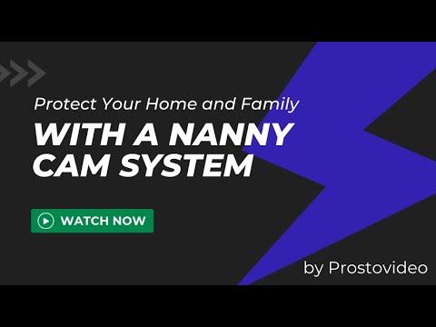 Видеонаблюдение в квартире за няней