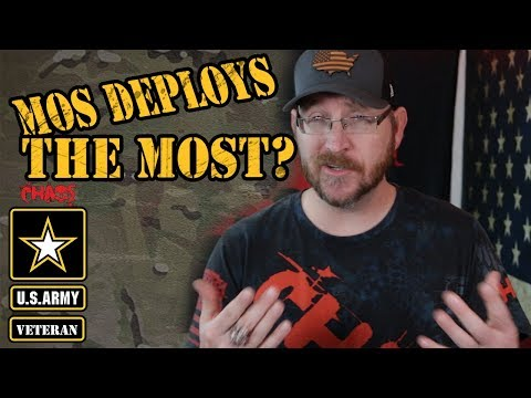 What Army MOS Deploys The Most