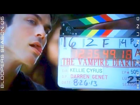 Ian Somerhalder ►DAMON BLOOPERS  All Seasons I  II  III  IV  V  x Mobile @HicEtNunc