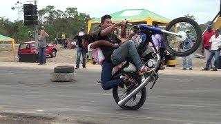 LAS CARRERAS DE MOTOS EN LA CONCORDIA NO SON CLANDESTINAS