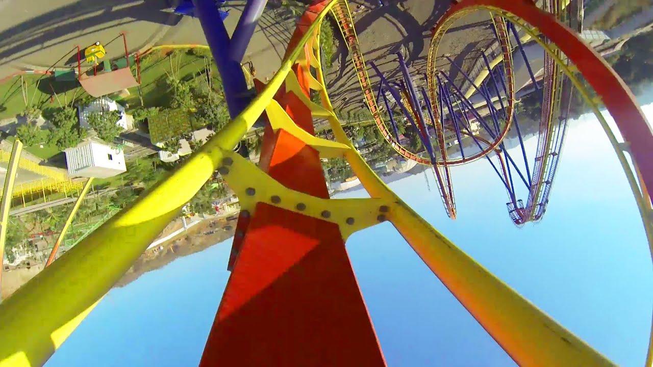 Nitro Roller Coaster POV Adlabs Imagica B&M Floorless Coaster ...