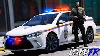 GTA 5 LSPDFR #204 POLICIA DE VENEZUELA PERSECUCIÓN A UN BUGATTI VEYRON | TheAxelGamer