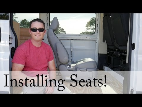 How to build a Campervan: Part 7 - Seat Install Video