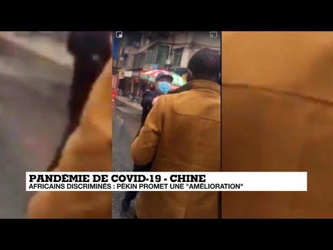 Coronavirus: la Chine accusée de discrimination envers les Africains