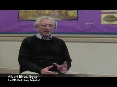 Ben-Gurion Archives and JIMENA: Albert Bivas, Egypt