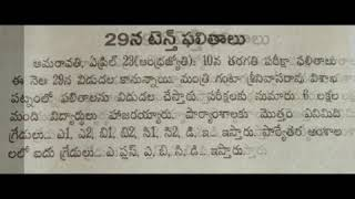 AP 10th class 2018 results