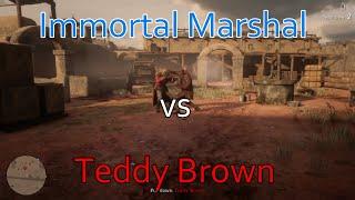 Red Dead Online- Insane NPC fight! 1v1 AI