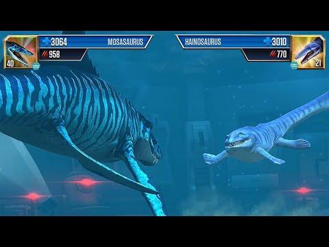 Mosasaurus vs Hainosaurus