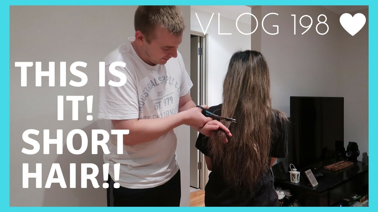 HUSBAND CUTS WIFE HAIR SHORT!!😱 💇