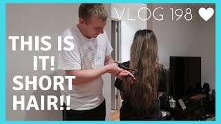 HUSBAND CUTS WIFE HAIR SHORT!!😱 💇