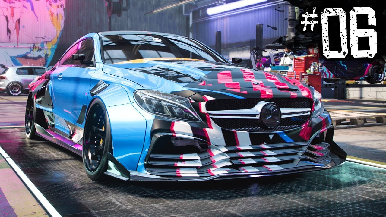 Free Mercedes Amg C63 Coupe Need For Speed Heat Part 6
